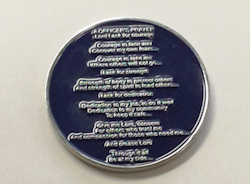 Challenge Coin Back